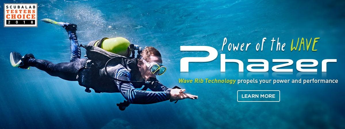 phazer aqualung fins