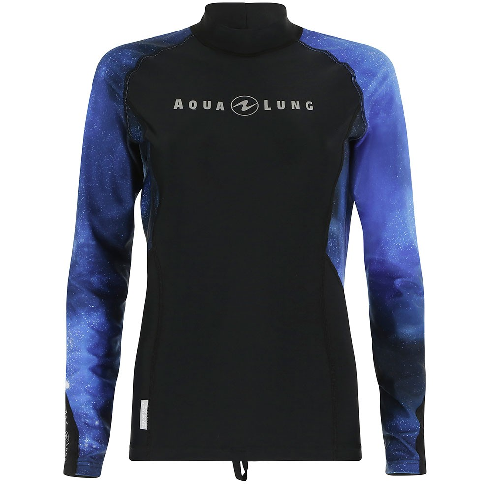 Top Uv Lady Long Sleeves Galactic Blue Aqualung