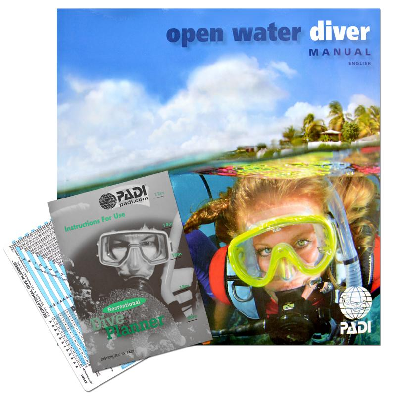 Manual Open Water With Rdp Table (Other Languages) Padi