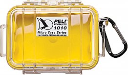 Case 1010 Yellow Clear Peli