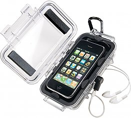 Case 1015 Iphone Black Clear Peli