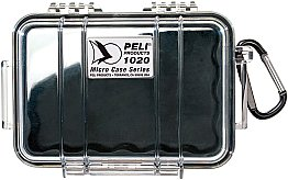 Case 1020 Black/Clear Peli