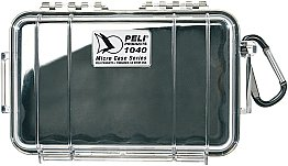 Case 1040 Black/Clear Peli