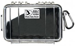 Case 1050 Black/Clear Peli