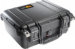 Case 1400 No Foam Black Peli