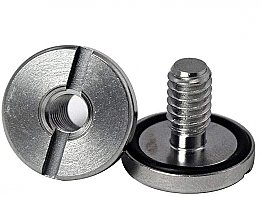 "Stainless Steel Book Screws 3/4"" Apeks"