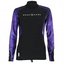 Top Uv Lady Long Sleeves Galactic Purple Aqualung