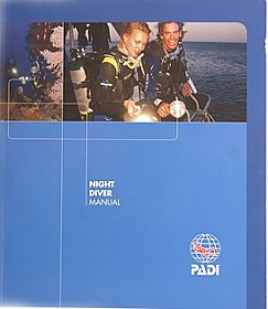 Manual Night Diver Padi