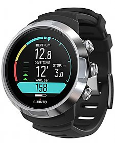 Computer D5 Black Suunto with Tank Pod