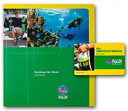 Manual Enriched Air Diver Padi