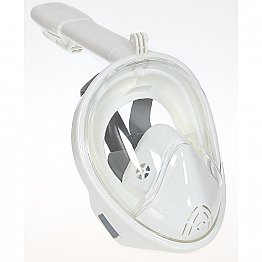 Full Face Snorkelling Mask White S/M - L/XL