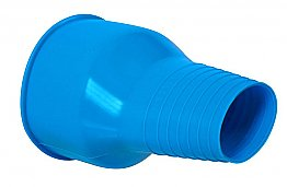 Silicone Wrist Seal Blue Small Si-tech